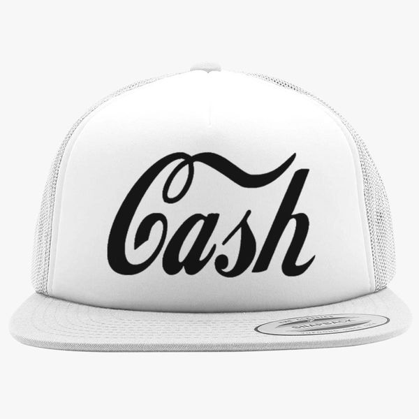 Johnny Cash Foam Trucker Hat  a56e8cfebc8