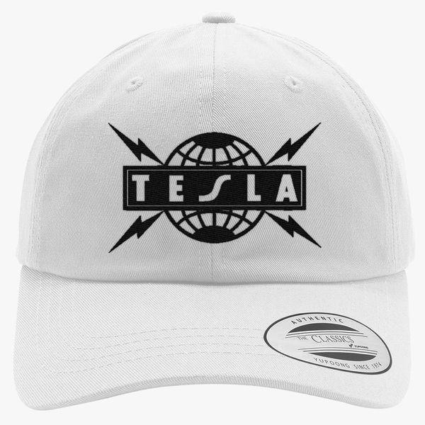 15e8d5a0 Tesla Cotton Twill Hat (Embroidered) | Hatsline.com
