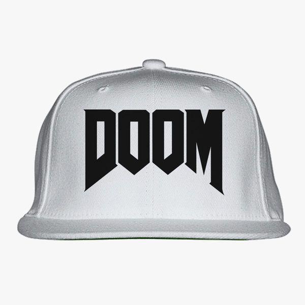 7e87084cf Doom Logo Snapback Hat | Hatsline.com