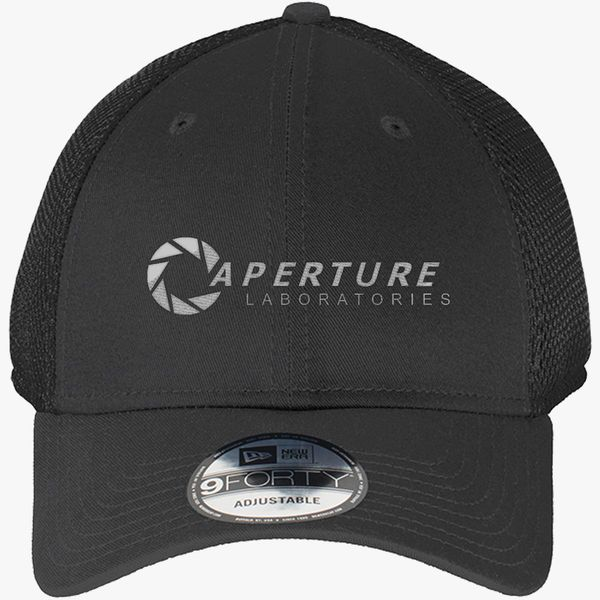 d5d5ea31b Aperture Science Labs New Era Baseball Mesh Cap (Embroidered) | Hatsline.com
