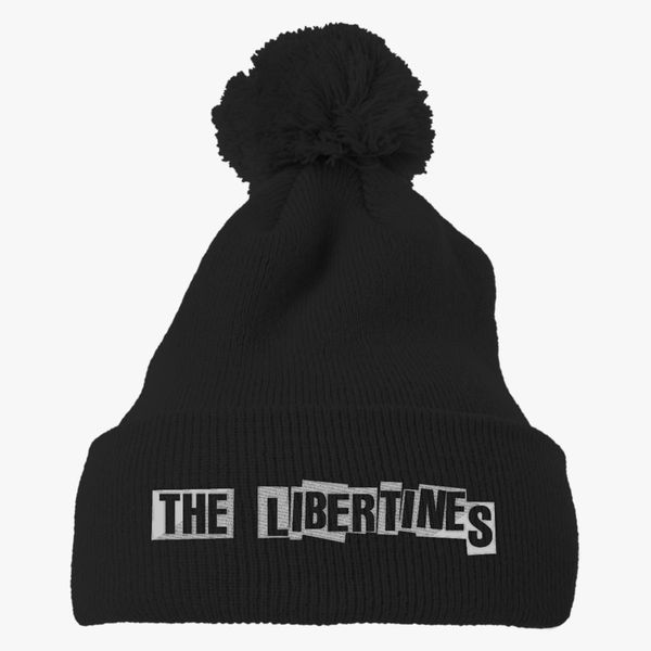 99c68caf70c Indie The Libertines Knit Pom Cap - Embroidery +more
