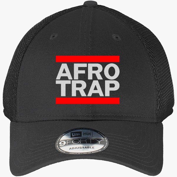 38b232681fa afro trap New Era Baseball Mesh Cap - Embroidery +more