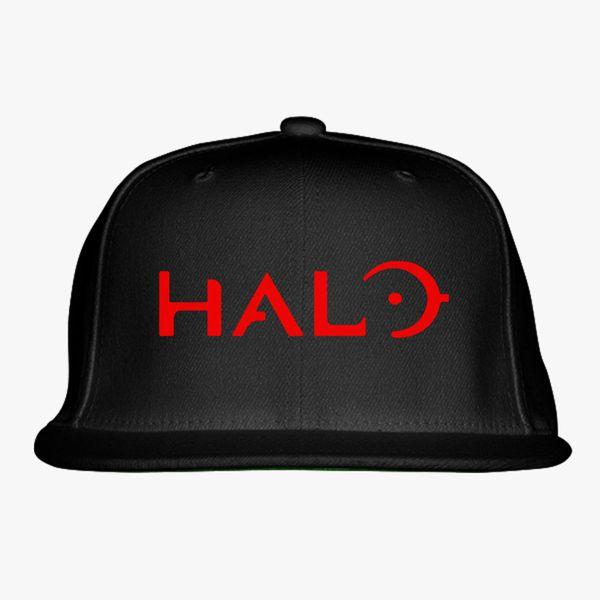 63d54fdc6343d Halo Logo Snapback Hat