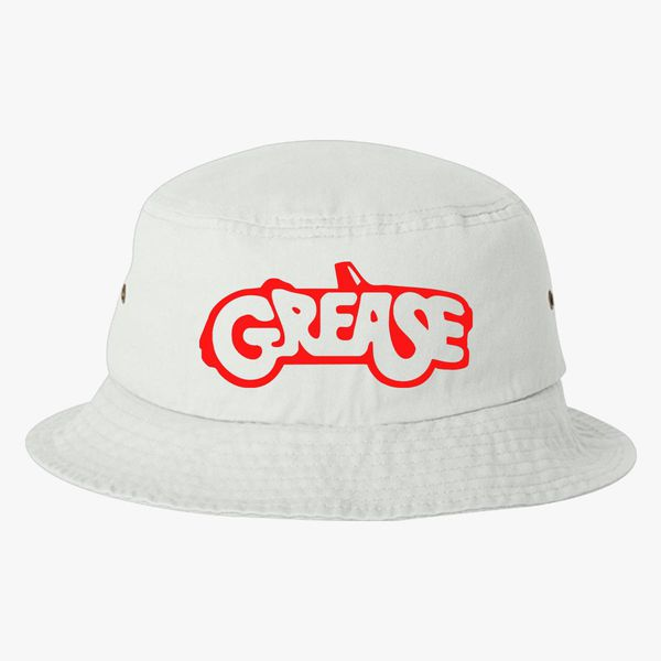 7d69784c7ffcc GREASE PINK LADIES Bucket Hat - Embroidery +more