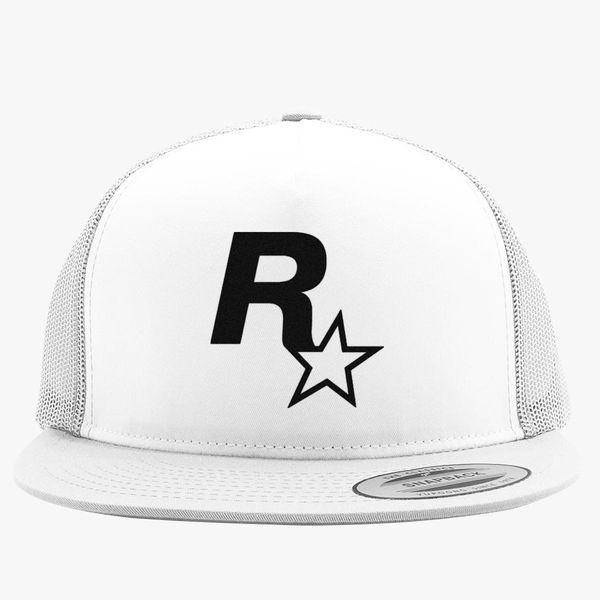 8763e1f8baf Rockstar Games Trucker Hat - Embroidery +more