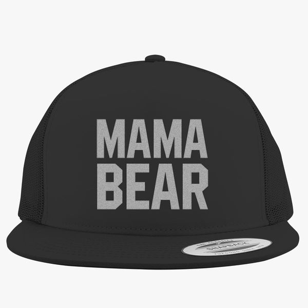 7781b1d3573fa Mama Bear Trucker Hat - Embroidery +more