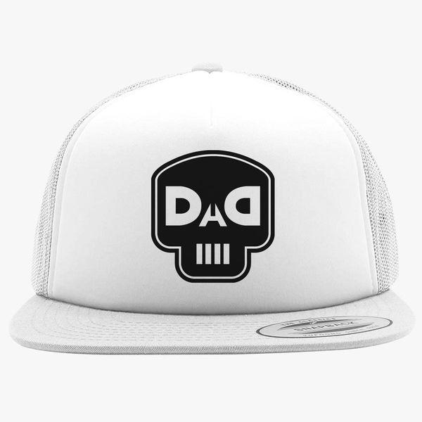 e7bfb9b0e4e4c dad skull Foam Trucker Hat