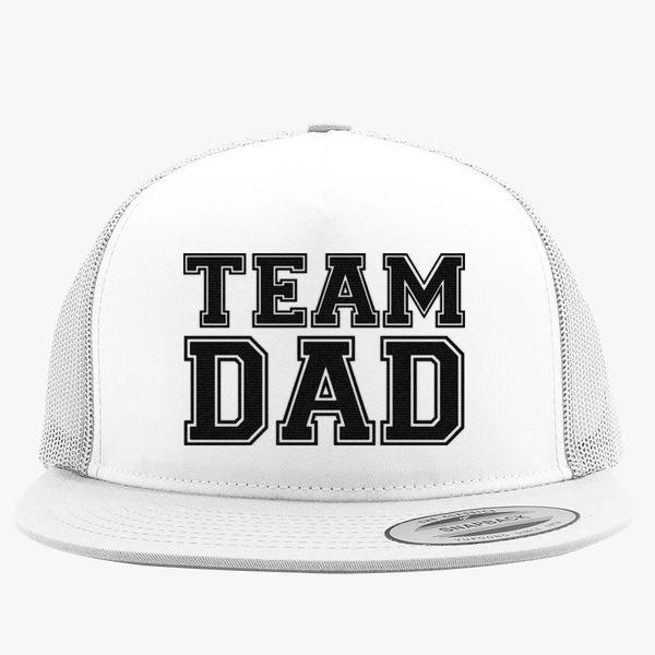 a1ad2e8e066f59 team dad Trucker Hat (Embroidered) | Hatsline.com