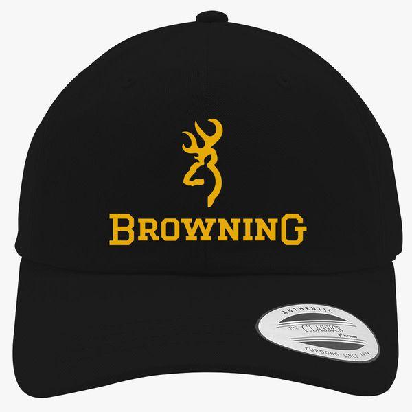 8eef62cc45a105 Browning Logo Cotton Twill Hat   Hatsline.com