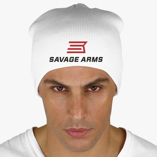 Savage Arms Logo Knit Beanie  a7ebdf2b74b