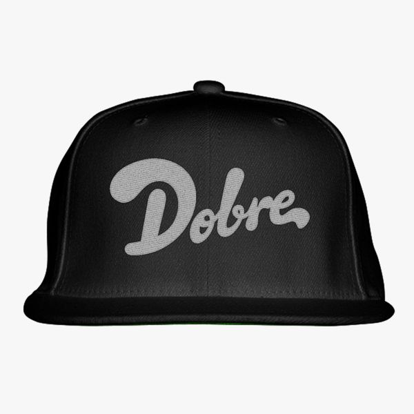 Dobre Brothers Dobre Twins Logo Snapback Hat Embroidered