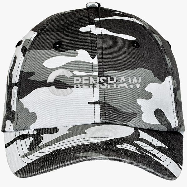 2c55af23dbf1a CRENSHAW Camouflage Cotton Twill Cap - Embroidery +more