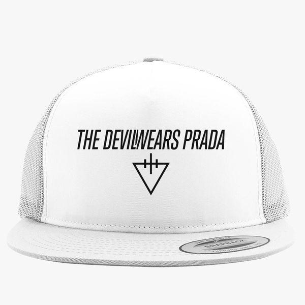 26d46ade8ec The Devil Wears Prada Logo Trucker Hat