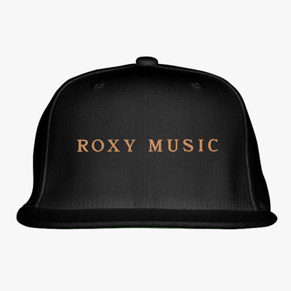 Roxy Music Logo Snapback Hat  da421a25c09