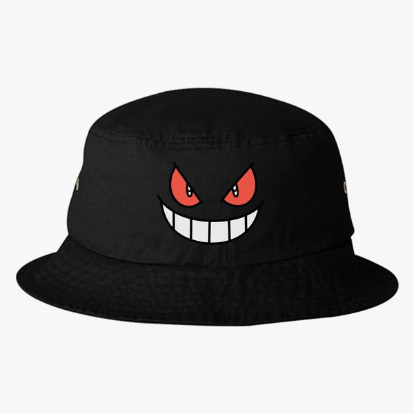 9144e93ca79 Gengar - Pokemon Bucket Hat - Embroidery +more