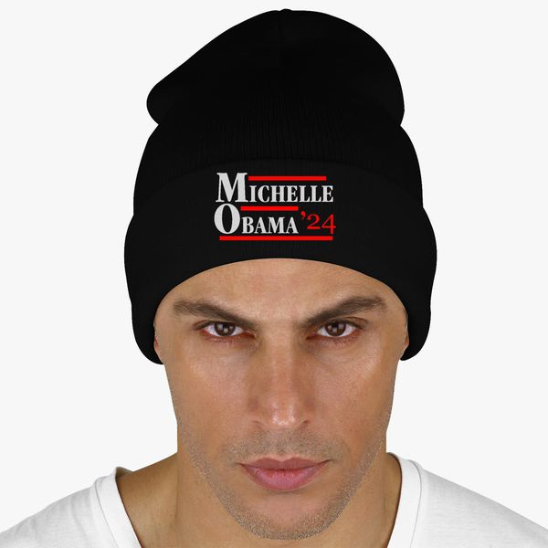 Michelle Obama 2024 Knit Cap (Embroidered)  27f7721267a1