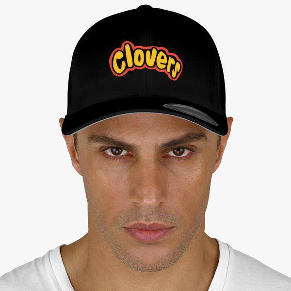 Clovers Bring It On Uniform Symbol Baseball Cap Embroidered Hatsline Com