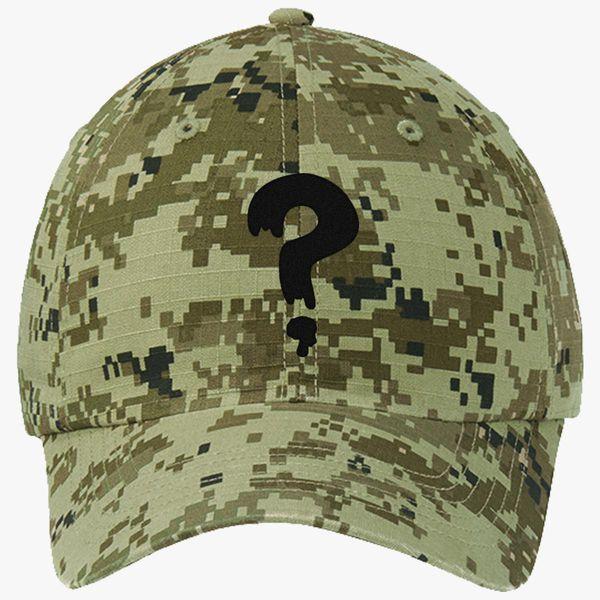 2cffb8fe1ca Gravity Falls Soos Ripstop Camouflage Cotton Twill Cap .