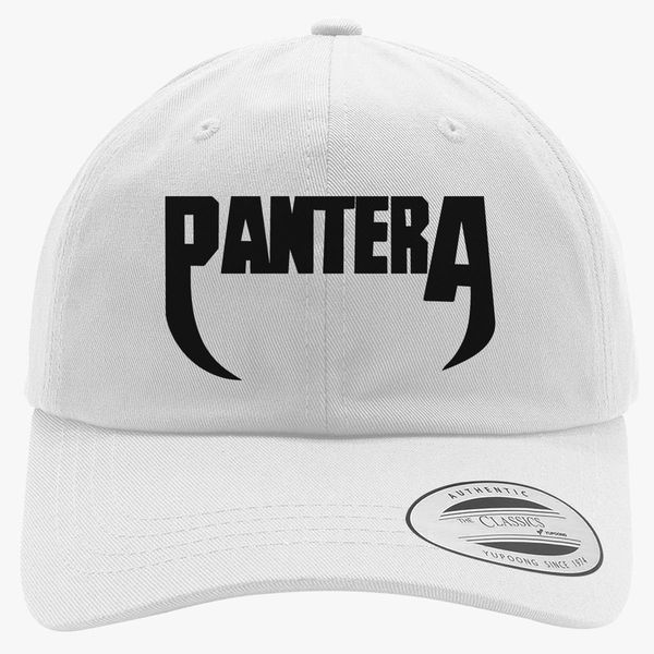 Pantera Band Logo Cotton Twill Hat  8280b74aa61