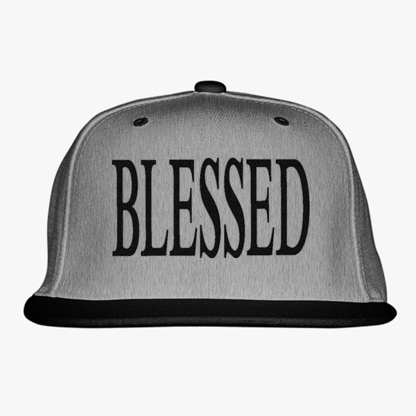 Blessed Snapback Hat - Embroidery +more c248a933a005