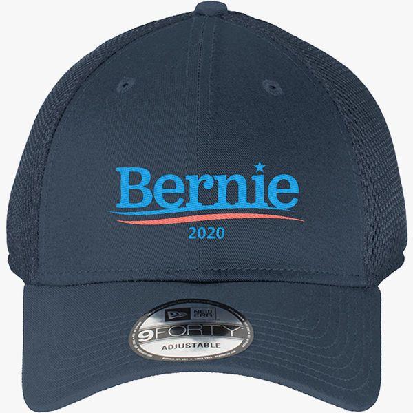848536a8d0227 Bernie Sanders 2020 New Era Baseball Mesh Cap - Embroidery +more