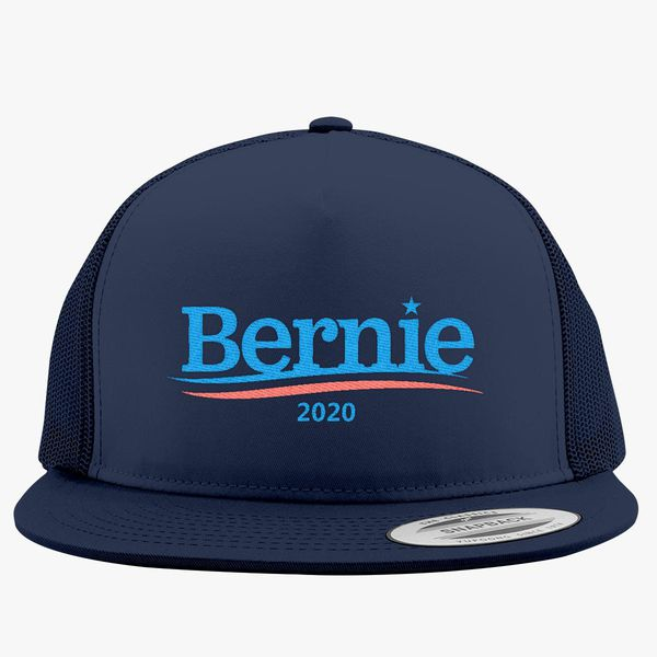 72f2df7310c Bernie Sanders 2020 Trucker Hat - Embroidery +more