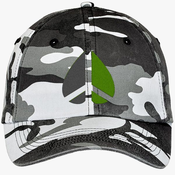 Greenpeace Funny Geek Nerd Camouflage Cotton Twill Cap - Embroidery +more 03e487dbffff