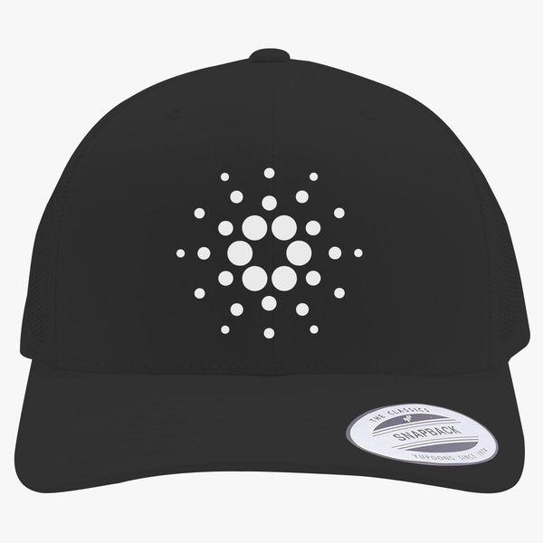 Cardano Logo Hat  Cardano Snapback Hat  Cardano Hat  Crypto Hat  3D Puff Embroidery