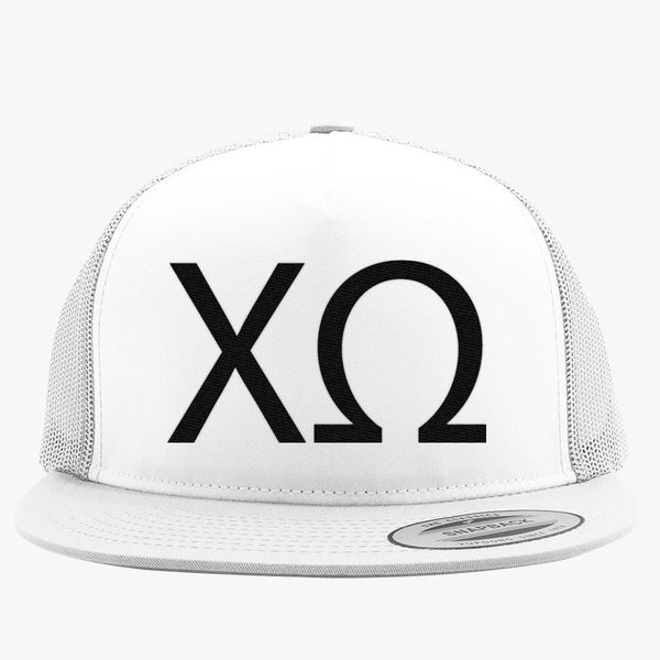 169022cc7875c Chi Omega Trucker Hat (Embroidered) | Hatsline.com
