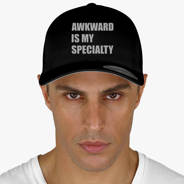 Awkward is my specialty Baseball Cap - Embroidery +more 0c22f99aa5b