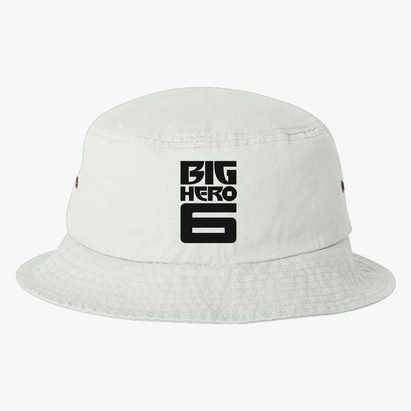 bc0bcf13433 Big Hero 6 Logo Bucket Hat - Embroidery +more