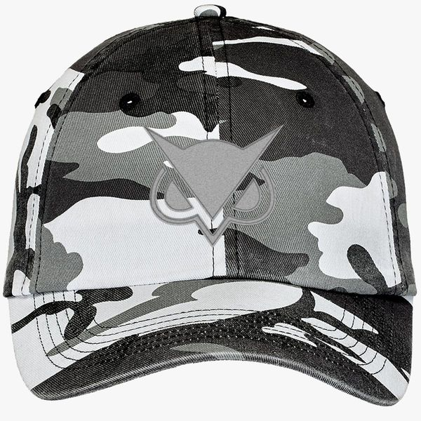 Vanoss gaming logo Camouflage Cotton Twill Cap (Embroidered)   Hatsline com