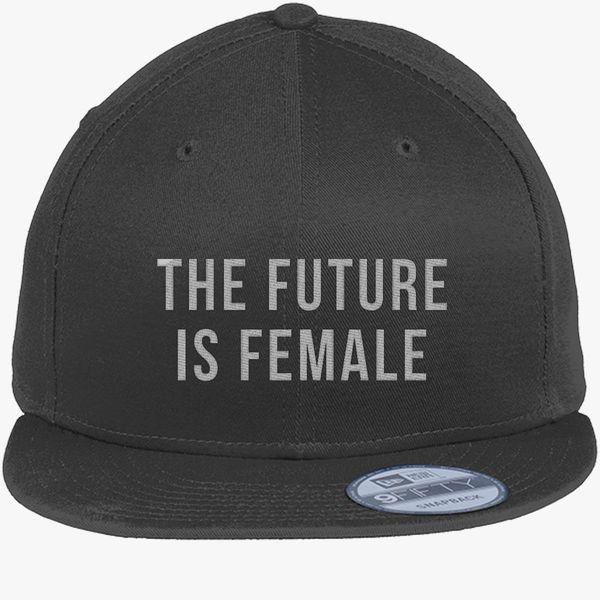 22dcd0c16 The Future Is Female New Era Snapback Cap (Embroidered)   Hatsline.com