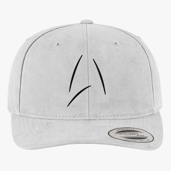 9f816d87825 Captain Kirk s Mug from Beyond Brushed Cotton Twill Hat (Embroidered ...