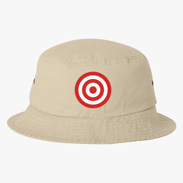 d0b1b8c5714 discs target Bucket Hat - Embroidery +more