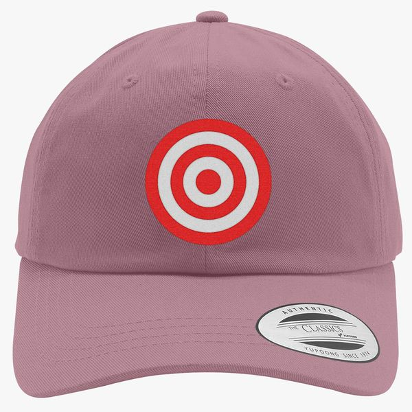 3be52bb749f discs target Cotton Twill Hat - Embroidery +more