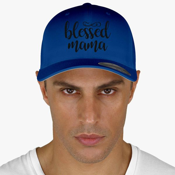 4cec6f04a97 Blessed Mama Baseball Cap (Embroidered) | Hatsline.com