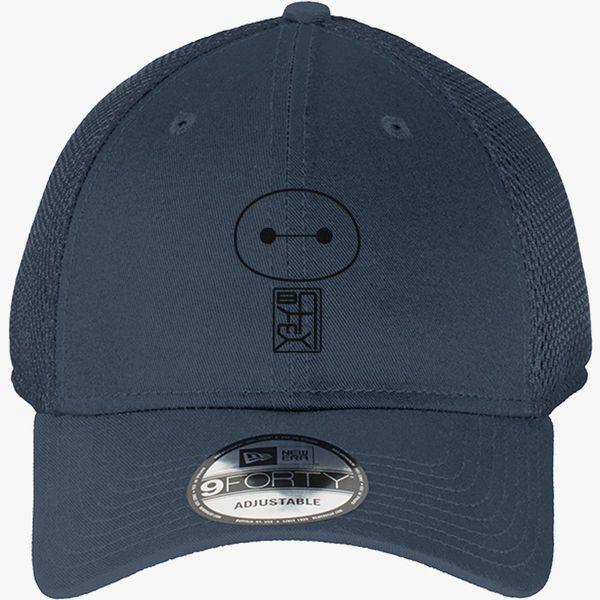 Big Hero Six Baymax face New Era Baseball Mesh Cap (Embroidered ... 276f70bb32d3
