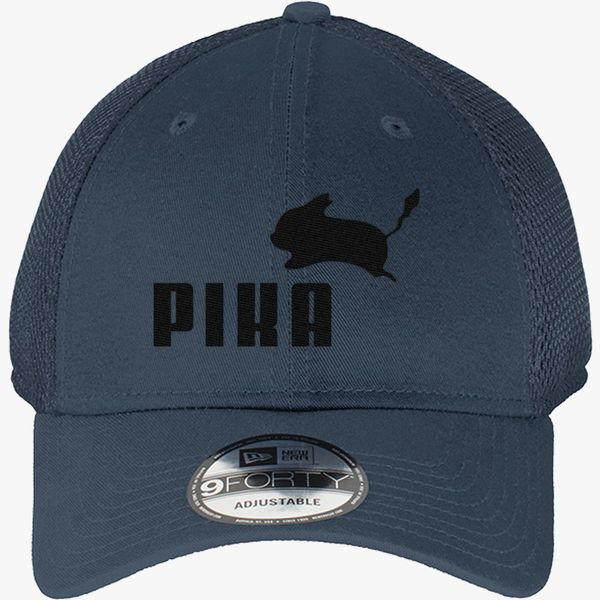 3cf5a840d8b Pika by Puma New Era Baseball Mesh Cap - Embroidery +more