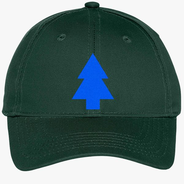 53e7ace5b16 Dipper Pines Tree Gravity Falls Youth Six-Panel Twill Cap - Embroidery +more