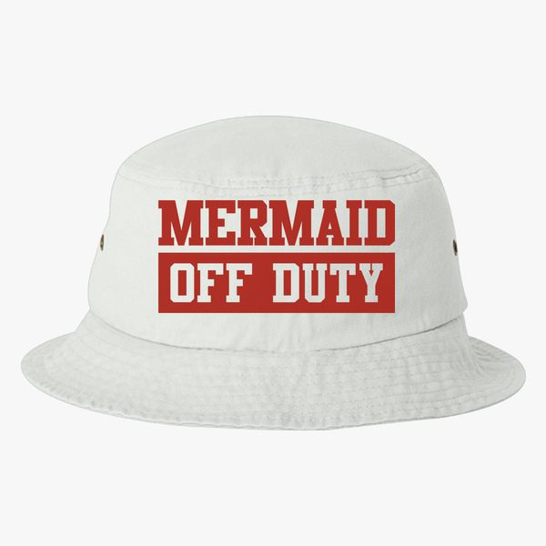 Mermaid Off Duty Bucket Hat - Embroidery +more 88a6d4957fc