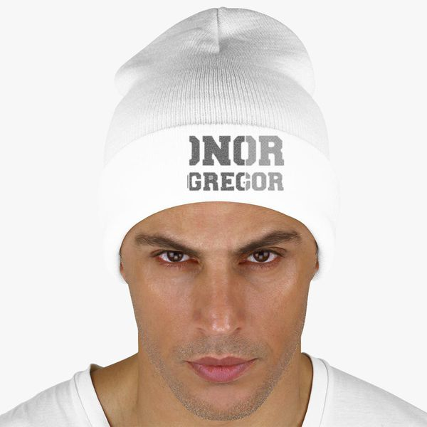 d03b93816d3 CONOR MCGREGOR IRISH Knit Cap - Embroidery +more