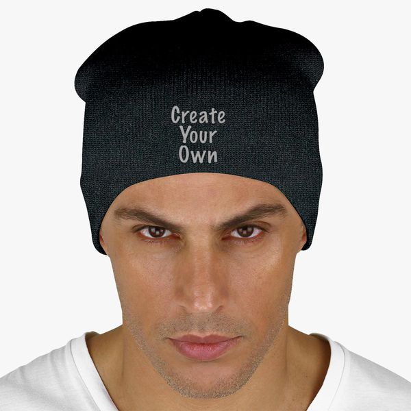 Create Your Own Knit Beanie - Embroidery +more 85b6bfba832