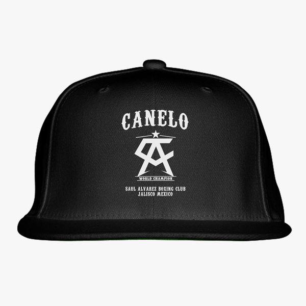 bba6f1571e62b4 Canelo Alvarez Snapback Hat | Hatsline.com