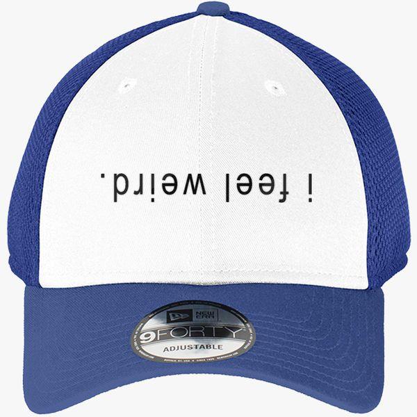 98477ba5ae4 kristen mcatee New Era Baseball Mesh Cap (Embroidered .