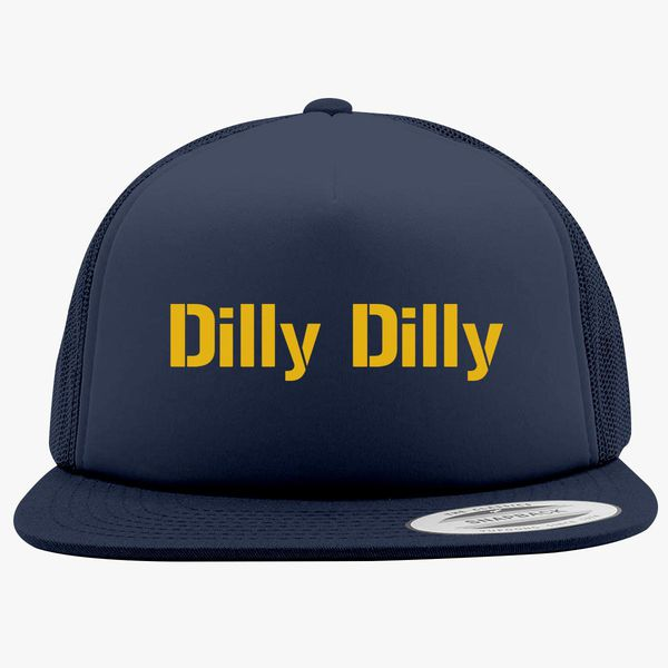 8bf0191b2e1bd dilly dilly bud light Foam Trucker Hat +more
