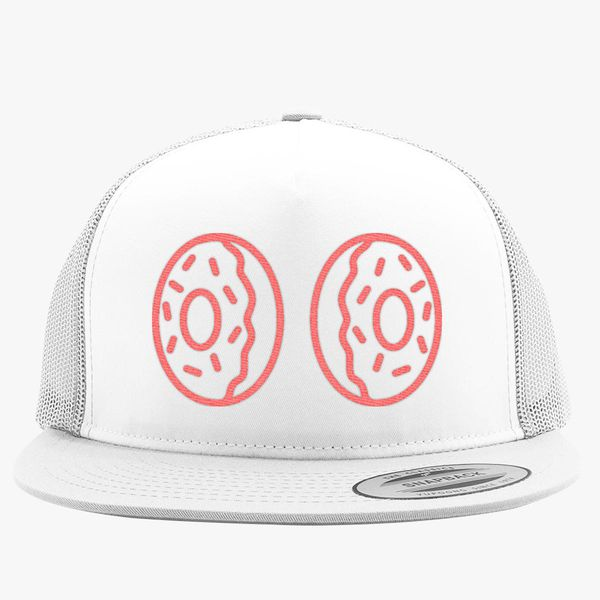 3c694b61eaa Donut boobs Trucker Hat - Embroidery +more