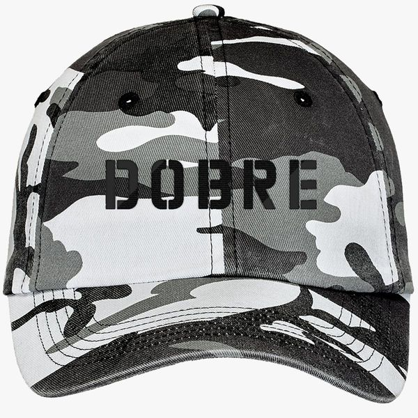 5736867aced Dobre Twins black Camouflage Cotton Twill Cap - Embroidery +more