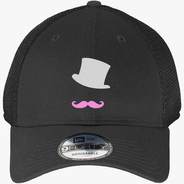 Markiplier mustache logo New Era Baseball Mesh Cap - Embroidery +more 93443d9f5e7c