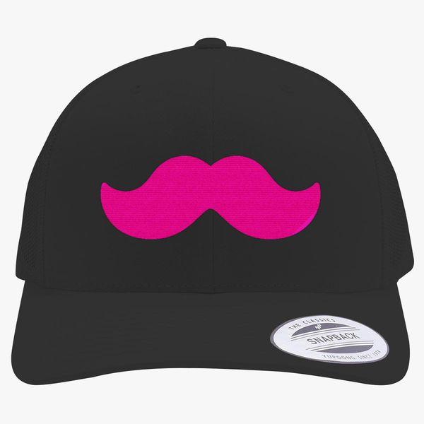 Markiplier Mustache Retro Trucker Hat - Embroidery +more 1e2297c59e0e